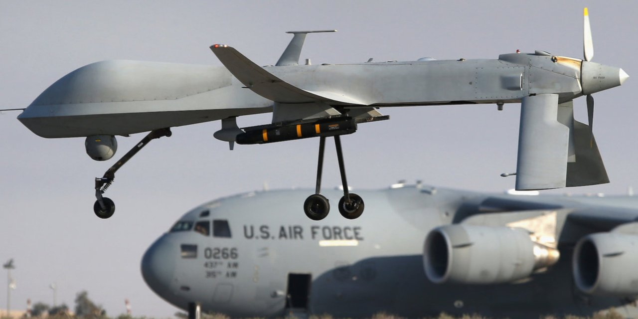 The US tries to cut down on civilian casualties by shooting sledgehammer Hellfire missiles packed with swords at terrorists