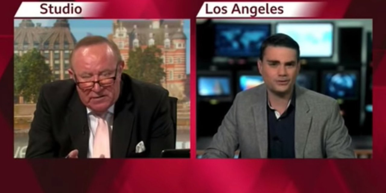 Ben Shapiro interview goes wildly off the rails — and he ends up walking off: 'I don't frankly give a damn what you think of me'