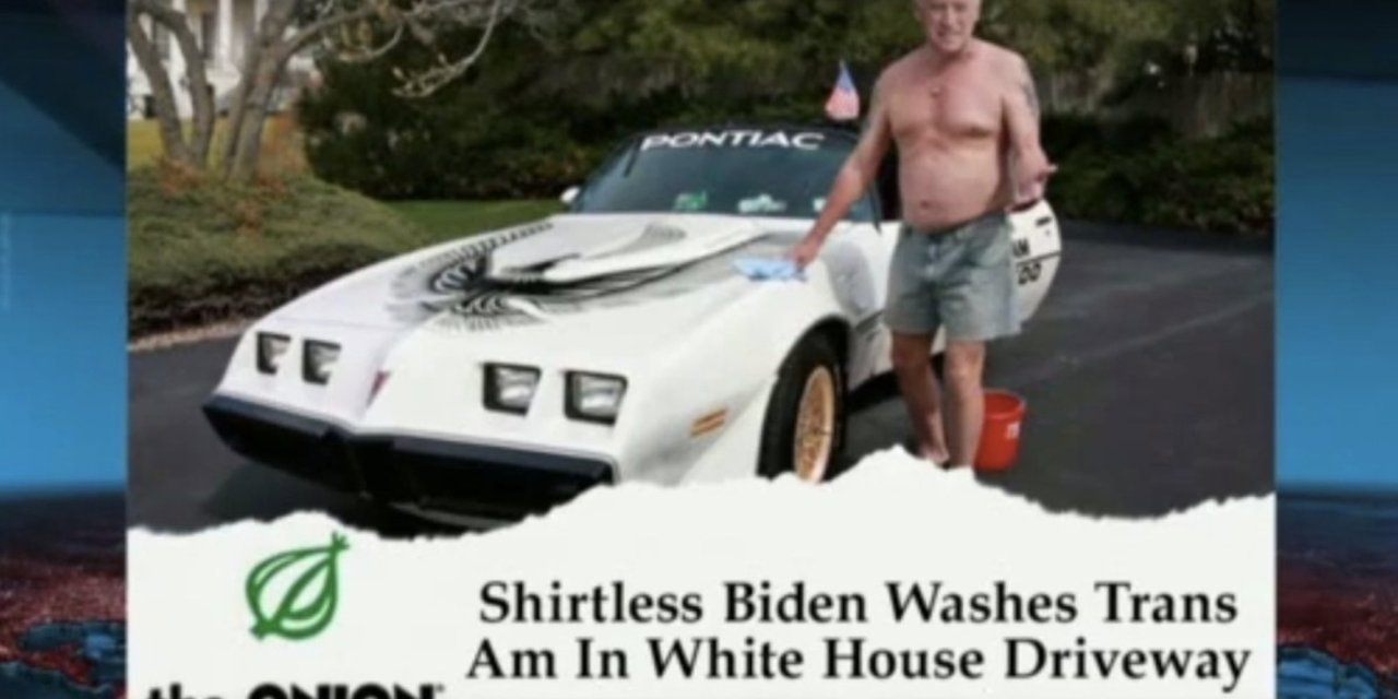 Former Onion editor sorry for helping to create 'lovable' Joe Biden image now that he's Democratic presidential front-runner