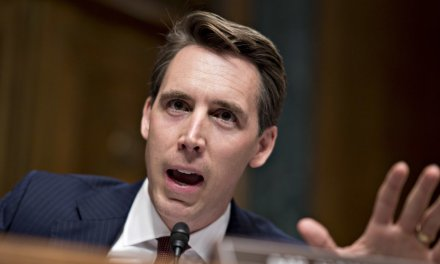 Sen. Josh Hawley grills a Trump judicial nominee for past comments comparing a Catholic family to the KKK