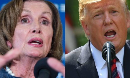 Pres. Trump lashes out at 'crazy' Nancy Pelosi, and she jabs back with this mocking statement