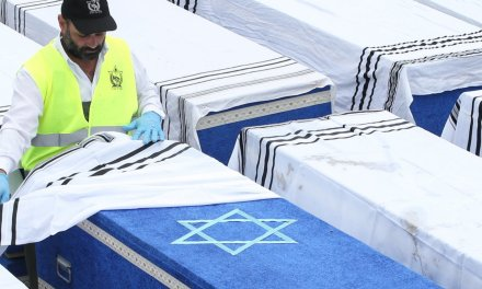 1,214 Holocaust victims laid to rest after mass grave discovered in Belarus