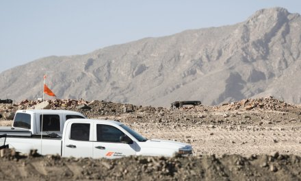 Privately-funded border wall construction begins in El Paso