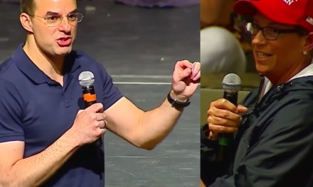 Trump supporter confronts Justin Amash at town hall for endorsing impeachment, and it gets very heated