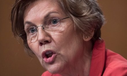 Here's what will get you from suspended from Twitter — a joke about Liz Warren's fake heritage