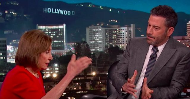 Nancy Pelosi Assures Jimmy Kimmel: We'll Be Ready to Impeach Donald Trump Before 2020