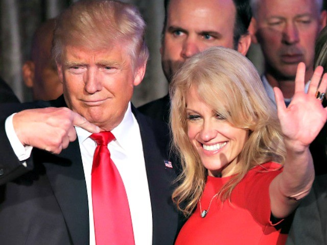 Donald Trump 'Not Going to Fire' Kellyanne Conway