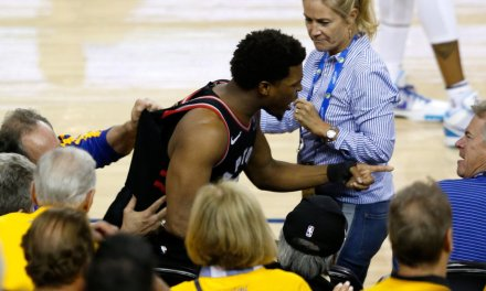 NBA part owner shoves a player during a game, gets hit with massive fine and ban