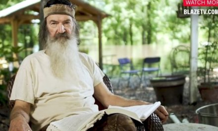 WATCH: 'Dad's, stand up and be men.' — Phil Robertson