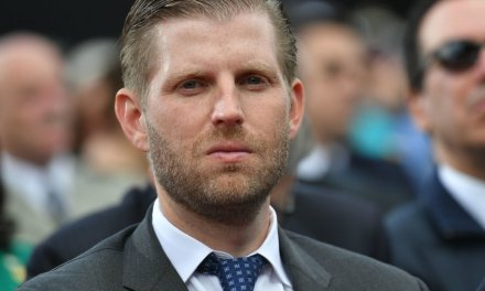 A GoFundMe page for the woman who reportedly spit on Eric Trump receives thousands in donations