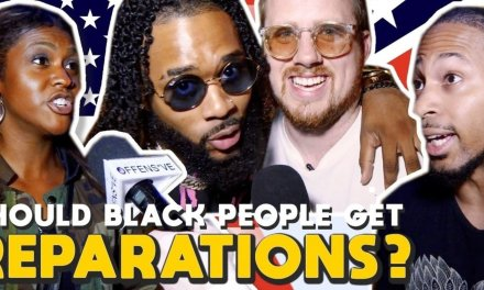 VIDEO: Californians say white Americans should pay reparations to black Americans. Period.