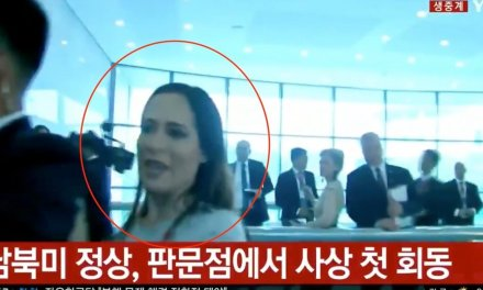 North Korean guards rough up Stephanie Grisham in 'all out brawl' — and the incident was caught on camera