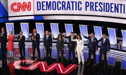 WATCH: Tech problems plague second night of Democratic debate