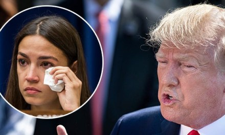 Donald Trump Thanks 'Vicious' Alexandria Ocasio-Cortez