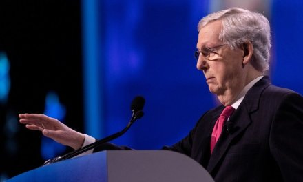Mitch McConnell facing 2020 challenge from former fighter pilot