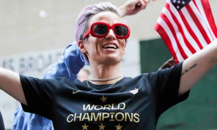 Megan Rapinoe's antics spell out exactly the type of civil war we are up against