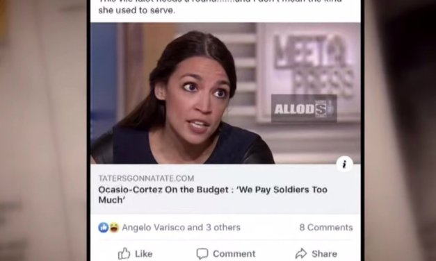 Louisiana cops fired over post about Ocasio-Cortez on Facebook — one for clicking 'like'