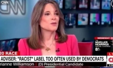 Marianne Williamson says Trump's tweets and policies are disturbing