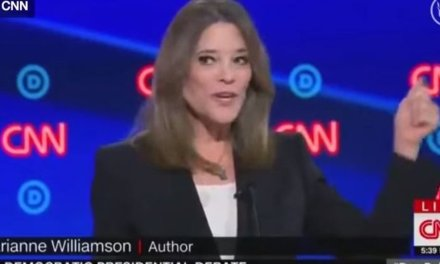 HILARIOUS: Yodeling Marianne Williamson