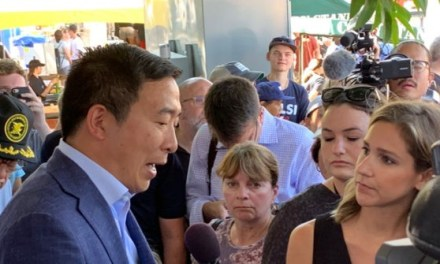 Andrew Yang Says Only Citizens Would Get $1,000 per Month He Vows