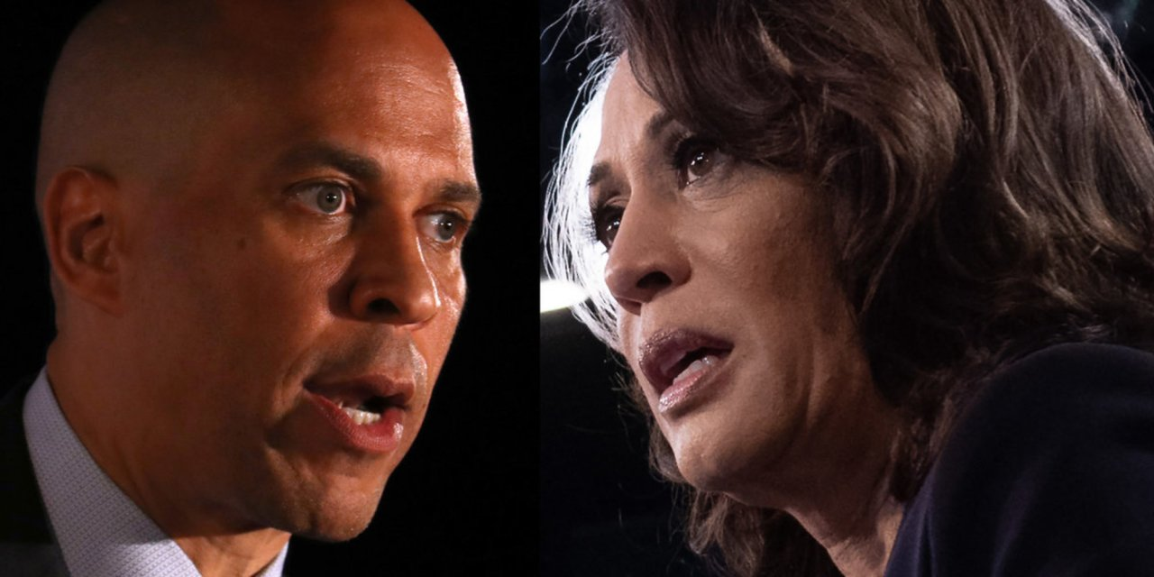 Booker and Harris are in hot water for courting black Pastor who made politically incorrect statements