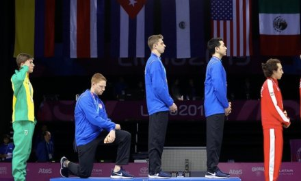 Pan Am athletes who staged podium protests may face 'consequences.' One blasted President Trump, saying he 'spreads hate.'