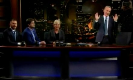 WATCH: Trump supporter interrupts live taping of 'Real Time with Bill Maher' to defend President Trump