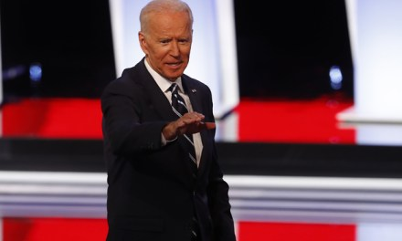 Joe Biden Gave Out A Bizarre Website At The Debate And People Were Very Confused