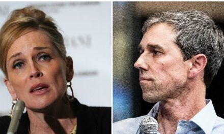 Sharon Stone Begs Beto O'Rourke to 'Run for Senate': 'Help Your Country'