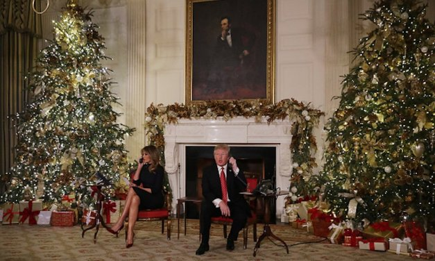 Trump Family Releases White House Message On Christmas Day