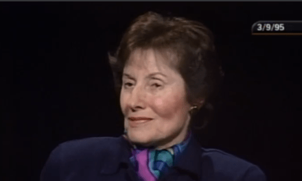 Remembering Gertrude Himmelfarb, The Great Neoconservative Woman Of Letters