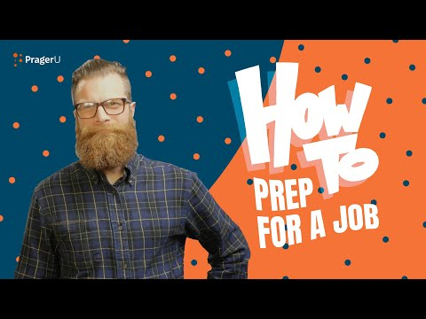 How to Prep for a Job