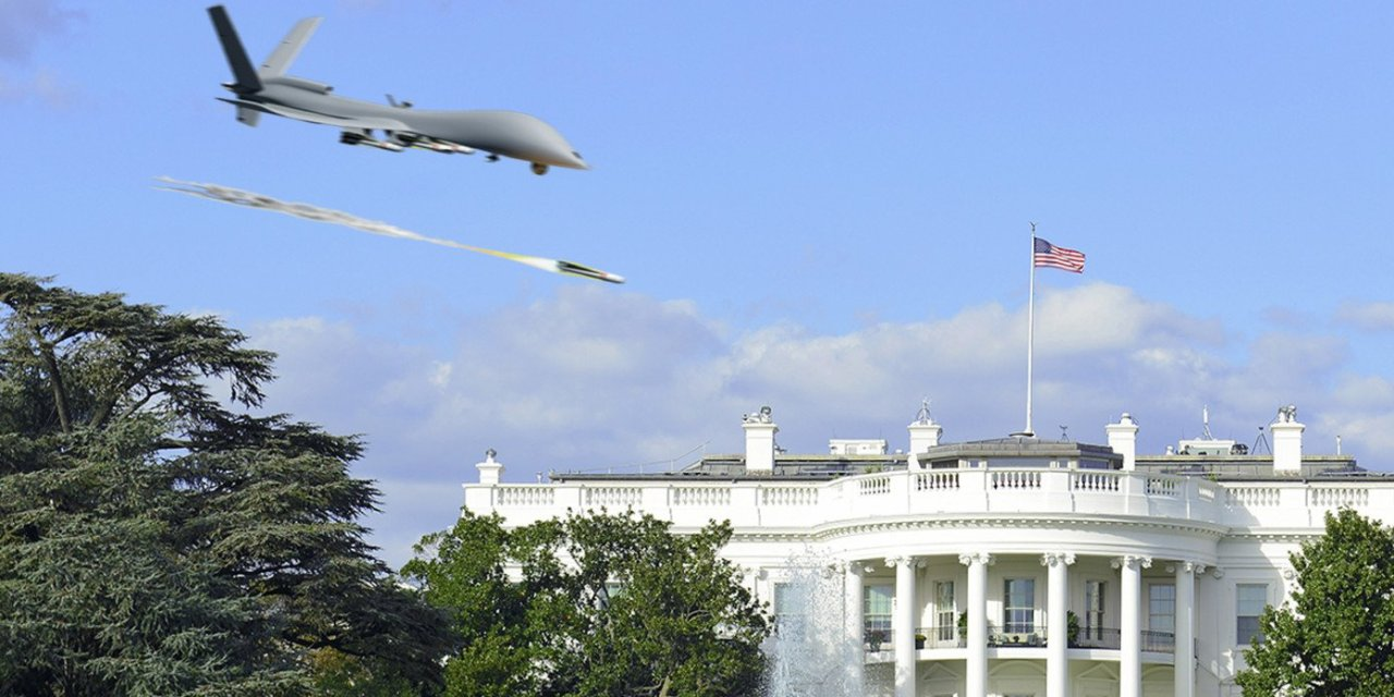 Biden Drone Strikes White House After Vowing To Kill Those Reponsible For American Military Deaths In Kabul