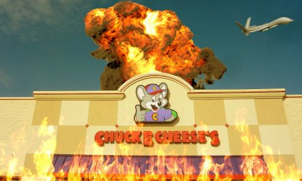 Update: Drone Strike Thought To Have Taken Down ISIS Actually Hit A Chuck E. Cheese In Ohio