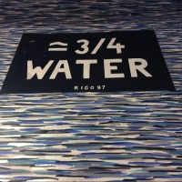 = 3/4 Water
