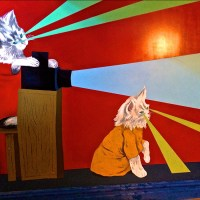 Roxie Theater Murals – Bunnie Reiss & Ezra Eismont