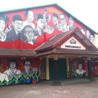 PANGGUNGHARJO GOR MURAL TO HONOR INDONESIAN LOCAL AND NATIONAL LEADERS