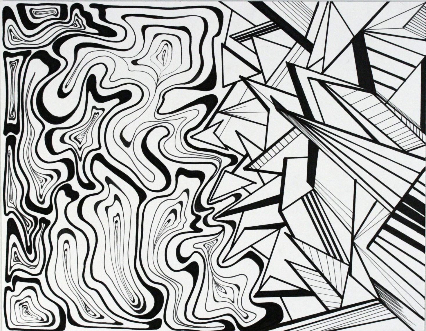 Geometric VS Organic Clarissagregory