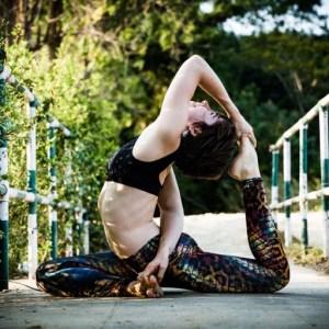 King Pigeon yoga pose in India