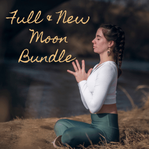 Full and New Moon Bundle videos with Clarissa Mae Yoga