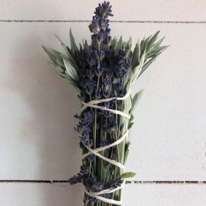 sage and lavender smudge bundle
