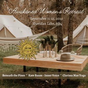 Awakened Women's Retreat, Sheridan Lake, Clarissa Mae Yoga, Beneath the Pines