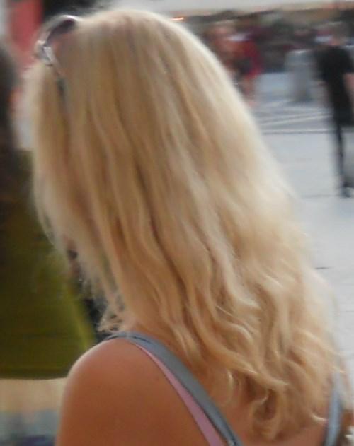 Golden hair Russia