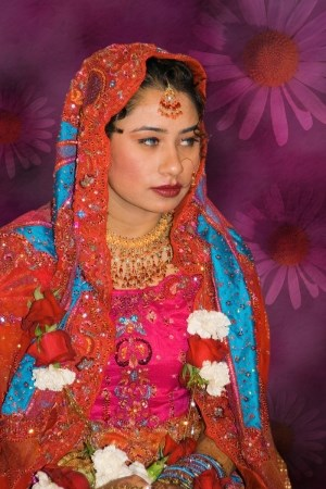 Pakistanian american bride