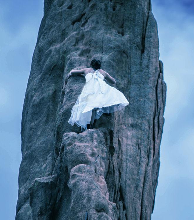 a bride who can transcend