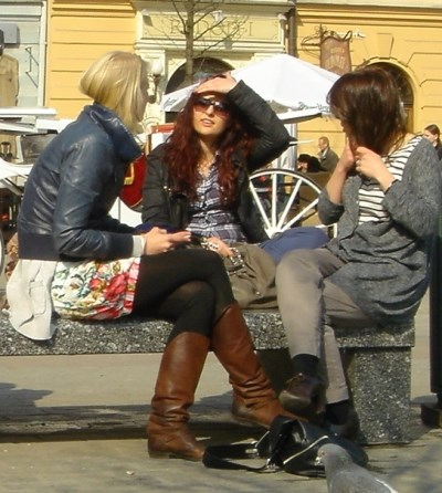best place to meet girls - on the street
