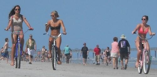 biking sunshine state girls
