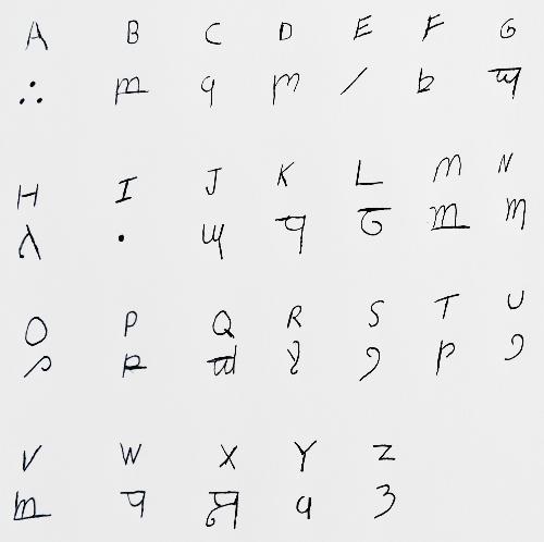 elvish alphabet