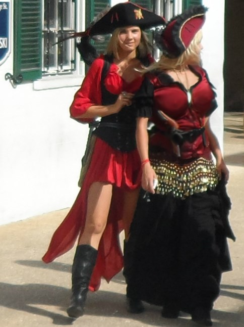 Role playing fantasy girls