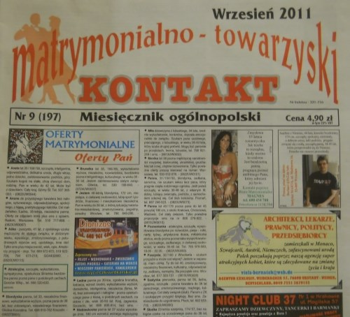 girls for marriage newspaper